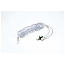 Линия спиральная 235 см с Y-коннектором и обратным клапаном