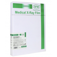 Пленка SFM X-Ray GF, 13 x 18 см зеленочувствительная (100 листов)